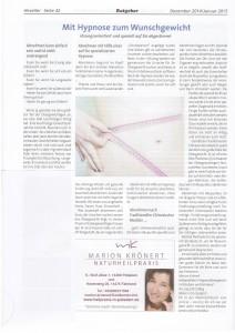 Heveller - Dezember 2014-Artikel
